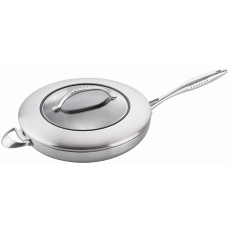 Scanpan CSX Saute Pan with Lid 12 1/2 Stainless Steel, Aluminum