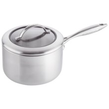 Scanpan CSX Saute Pan with Lid - 3 qt., Stainless Steel, Aluminum in Stainless Steel - Closeouts