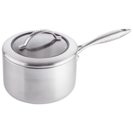 Scanpan CSX Saute Pan with Lid 3 qt Stainless Steel Aluminum