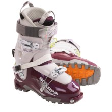 Scarpa Blink Alpine Ski Boots (For Women) in Plum/Light Grey - Closeouts