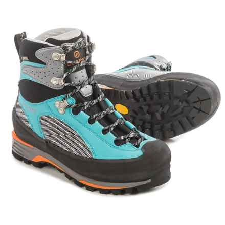 Scarpa Charmoz Pro Gore-Tex® Mountaineering Boots - Waterproof (For Women) in Grey/Maldive - Closeouts