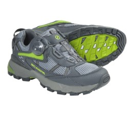 Scarpa Corsa BOA® Trail Runners (For Women) in Pewter/Green Apple