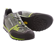 Scarpa Crux Light Hiking Shoes (For Men) in Shark/Green - Closeouts
