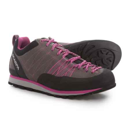 Scarpa Crux Light Hiking Shoes (For Women) in Mid Grey/Dahlia - Closeouts