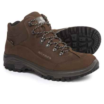 Scarpa Cyrus Mid Gore-Tex® Hiking Boots - Waterproof (For Men) in Brown - Closeouts