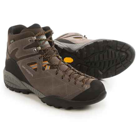 Scarpa Daylite Gore-Tex® Hiking Boots- Waterproof (For Men) in Dark Brown/Charcoal - Closeouts