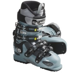 Scarpa Domina Ski Boots (For Women) in Ice Blue/Anthracite