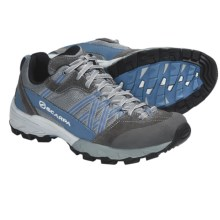 Scarpa Epic Trail Running Shoes - Recycled Materials (For Women) in Grey/Ocean - Closeouts