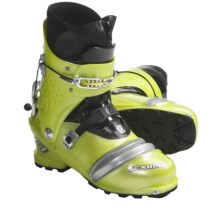Scarpa F1 Race AT Ski Boots - Dynafit Compatible (For Men and Women) in Lemon - Closeouts