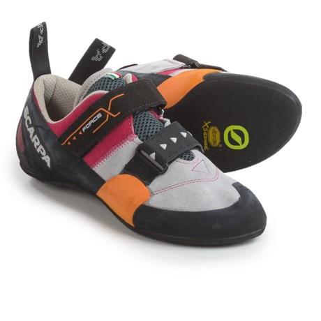 Scarpa Force X Climbing Shoes - Suede (For Women)