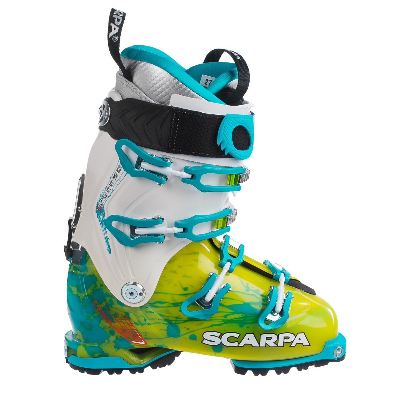 Scarpa Freedom Sl Alpine Touring Ski Boots For Women