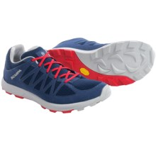 Scarpa Game Trail Running Shoes (For Men and Women) in Blue/Red - Closeouts