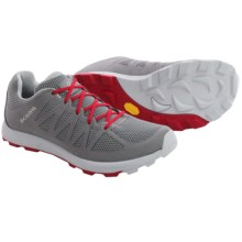Scarpa Game Trail Running Shoes (For Men and Women) in Light Gray/Red - Closeouts
