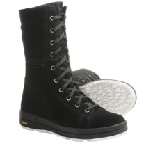 Scarpa Gardena Snow Boots - Suede, Shearling Lining (For Women) in Black - Closeouts
