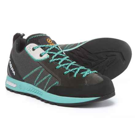 Scarpa Gecko Lite Hiking Shoes (For Women) in Shark/Lagoon - Closeouts