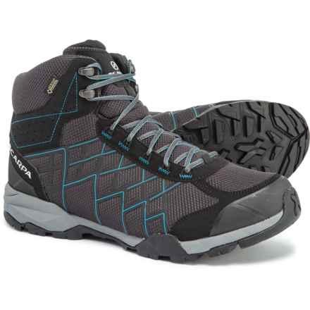 Scarpa Hydrogen Gore-Tex® Hiking Boots - Waterproof (For Men) in Dark Grey/Blue - Closeouts