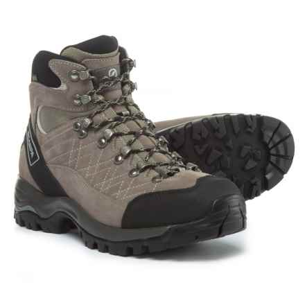 Scarpa Kailash Gore-Tex® Hiking Boots - Waterproof (For Men) in Cigar/Fog - Closeouts