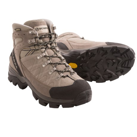 Scarpa Kailash Gore-Tex® Hiking Boots - Waterproof (For Men) in Taupe/Cigar