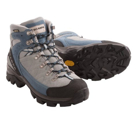 Scarpa Kailash Gore-Tex® Hiking Boots - Waterproof (For Women) in Pewter/Jeans