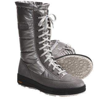 Scarpa Lech Snow Boots - Wool-Lined, Insulated (For Women) in Silver