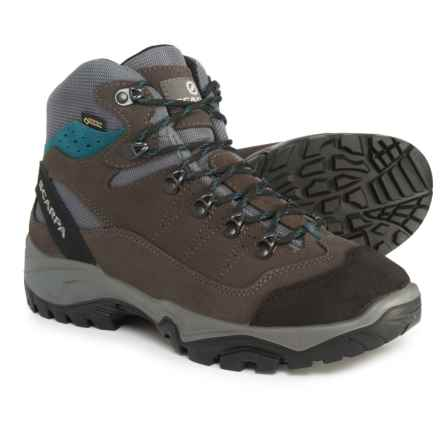 Scarpa Made in Italy Mistral Gore-Tex® Hiking Boots - Waterproof (For Men) in Smoke/Lake - Closeouts