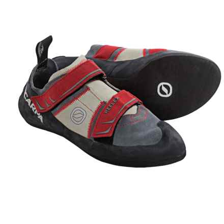 Scarpa Made in Italy Reflex Climbing Shoes (For Men and Women) in Smoke/Parrot - Closeouts