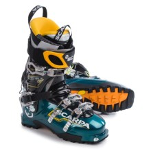 Scarpa Maestrale Alpine Touring Ski Boots - Dynafit Compatible(For Men) in Blue/Radiance - Closeouts