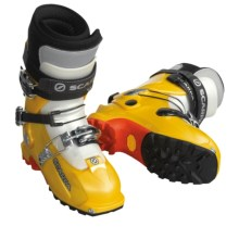 Scarpa Magic AT Ski Boots - Dynafit Compatible (For Women) in Yellow - Closeouts
