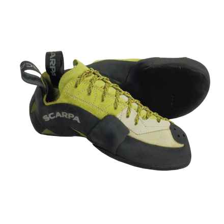 Scarpa Mago Climbing Shoes (For Men and Women) in Apple/Green - Closeouts