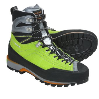 Scarpa Maverick Gore-Tex® Mountaineering Boots - Waterproof (For Men) in Spring/Silver