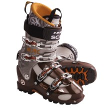 Scarpa Mobe AT Ski Boots - Dynafit Compatible (For Men) in Mocha/Shark - Closeouts