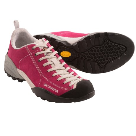 Scarpa Mojito Approach Shoes - Suede (For Women) in Cherry