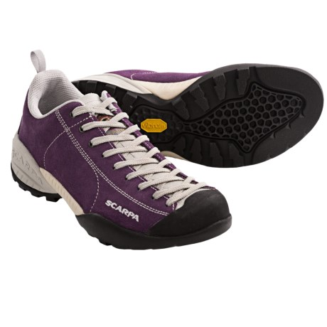 Scarpa Mojito Approach Shoes - Suede (For Women) in Plum