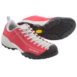 Scarpa Mojito Approach Shoes - Suede (For Women) in Red Ibiscus