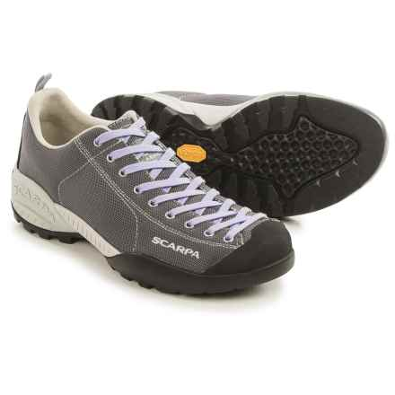 Scarpa Mojito Fresh Hiking Shoes (For Women) in Mid Grey/Lilac - Closeouts