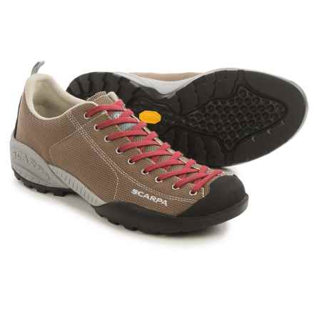 Scarpa Mojito Fresh Light Hiking Shoes (For Men) in Brown/Spiced Red - Closeouts