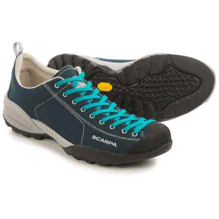 Scarpa Mojito Fresh Light Hiking Shoes (For Men) in Dark Blue/Abyss - Closeouts