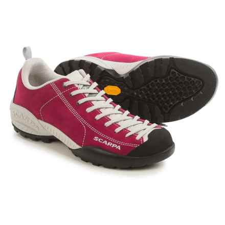Scarpa Mojito Limited Edition Hiking Shoes - Suede (For Women) in Cherry - Closeouts