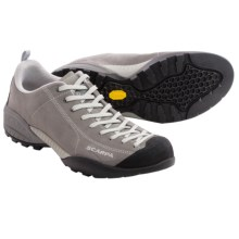 Scarpa Mojito Suede Approach Shoes (For Men and Women) in Mid Grey - Closeouts