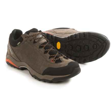 Scarpa Moraine Plus Gore-Tex® Hiking Shoes - Waterproof, Nubuck (For Men) in Charcoal/Mango - Closeouts