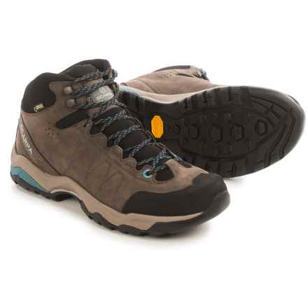 Scarpa Moraine Plus Mid Gore-Tex® Hiking Boots - Waterproof, Nubuck (For Women) in Charcoal/Air - Closeouts
