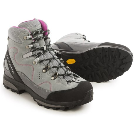 Scarpa Mythos Gore-Tex® Hiking Boots - Waterproof, Suede (For Women) in Pewter/Smoke