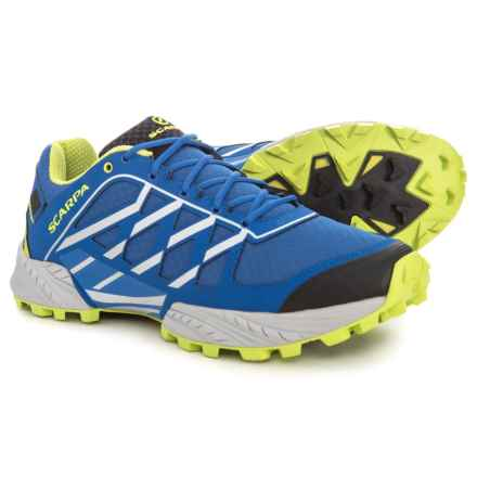 Scarpa Neutron Trail Running Shoes (For Men) in Turkish Sea - Closeouts