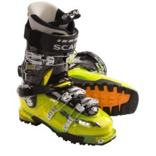 Scarpa Pegasus Alpine Ski Boots (For Men) in Yellow/Black - Closeouts