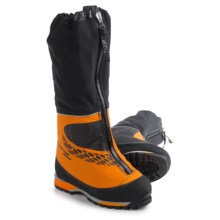 Scarpa Phantom 8000 Mountaineering Boots - Waterproof, Insulated (For Men) in Orange - Closeouts