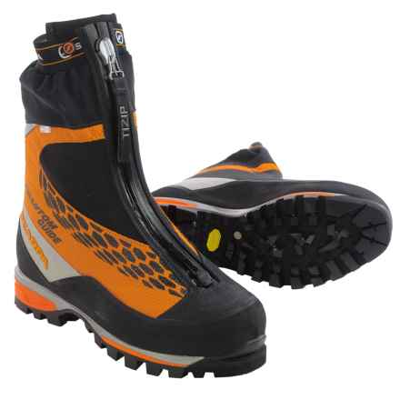 Scarpa Phantom Guide Mountaineering Boots - Waterproof, Insulated (For Men) in Orange - Closeouts