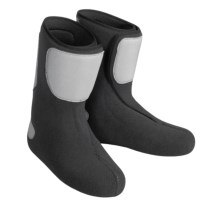 Scarpa PlusFit Mid Ski Boot Liners (For Men and Women) in Black - Closeouts