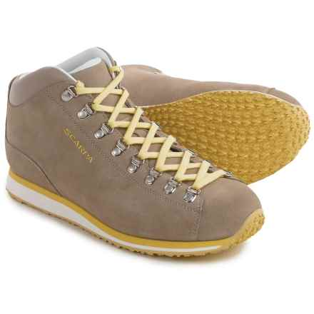 Scarpa Primitive Lite Boots - Nubuck (For Men) in Beige/Sunshine - Closeouts