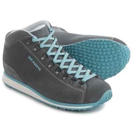 Scarpa Primitive Lite Boots - Nubuck (For Men) in Smoke/Air - Closeouts