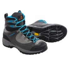 Scarpa R-Evolution Gore-Tex® Hiking Boots - Waterproof, Suede (For Women) in Shark/Turquoise - Closeouts